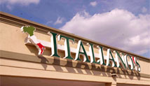 Italiano's Sign Front